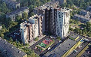 Жилой комплекс «Каскад на Ленина» в Нижнем Новгороде