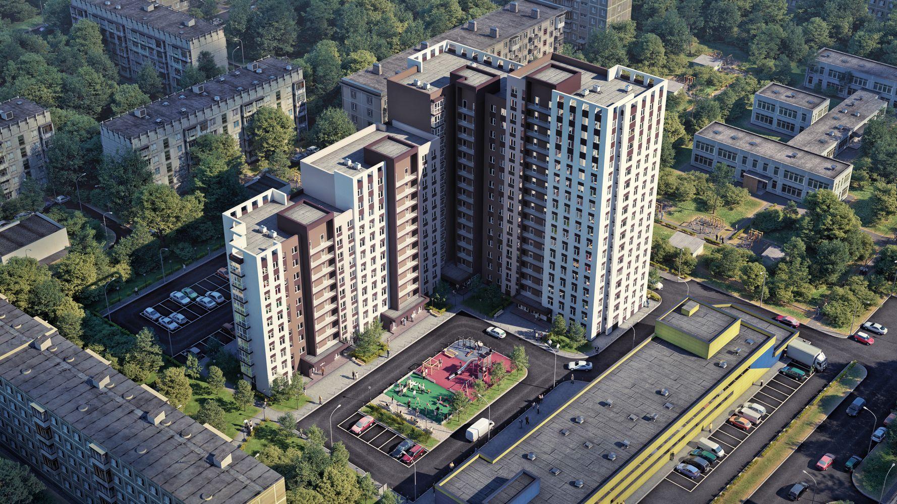 Жилой комплекс «Каскад на Ленина» в Нижнем Новгороде - фото 1