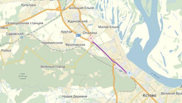 Капитальный ремонт автомобильной дороги Восточный подъезд к г. Нижний Новгороду от а/д М-7 «Волга» км 7+900 – км 10+604 (Кстовское направление)