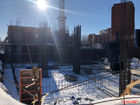 Ход строительства дома № 1 в ЖК Дом на Набережной - фото 8, Март 2021