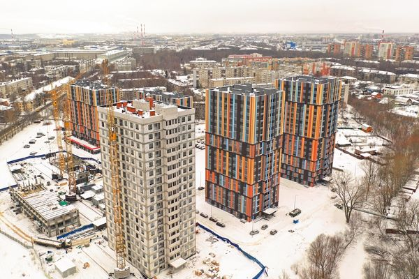 В I квартале 2019 года в Нижнем Новгороде введены в эксплуатацию 11 новостроек