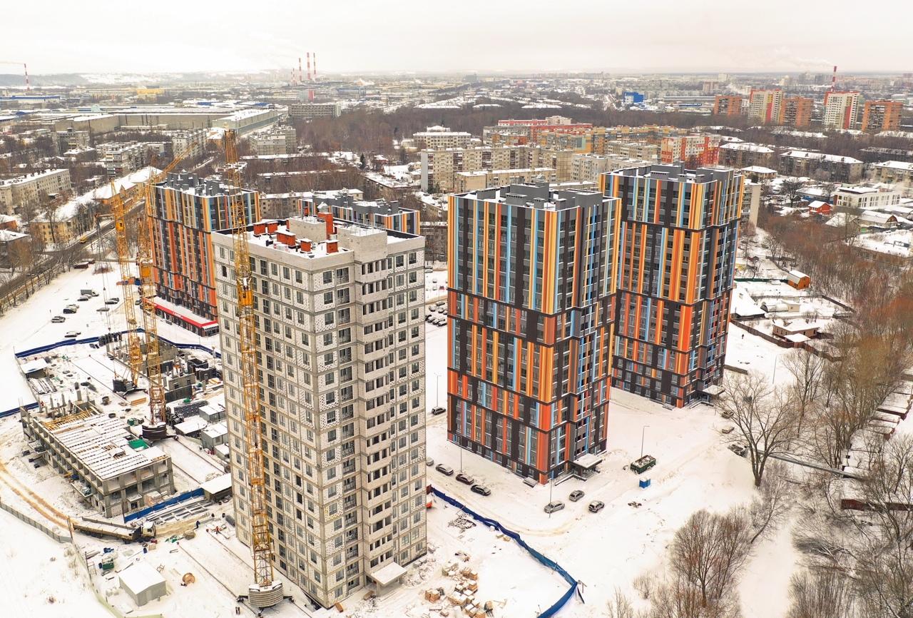 В I квартале 2019 года в Нижнем Новгороде введены в эксплуатацию 11 новостроек - фото 1