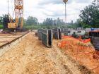 Ход строительства дома № 18 в ЖК Город времени - фото 111, Май 2019