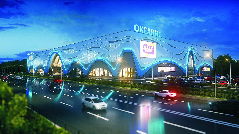 Комплекс с аквапарком «Океанис» на проспекте Гагарина 35 к1 - фото 1