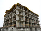 Ход строительства дома Литер 6 в ЖК Южный Берег - фото 18, Ноябрь 2019