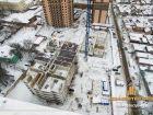 ЖК Центральный-3 - ход строительства, фото 116, Январь 2018