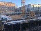ЖК Каскад на Менделеева - ход строительства, фото 37, Декабрь 2019
