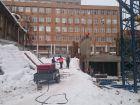 Ход строительства дома №1 в ЖК Премиум - фото 141, Январь 2017