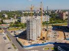 Ход строительства дома № 15 в ЖК ЮГ - фото 8, Июнь 2016