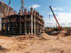 Ход строительства дома № 21 в ЖК КМ Анкудиновский парк - фото 3, Август 2021