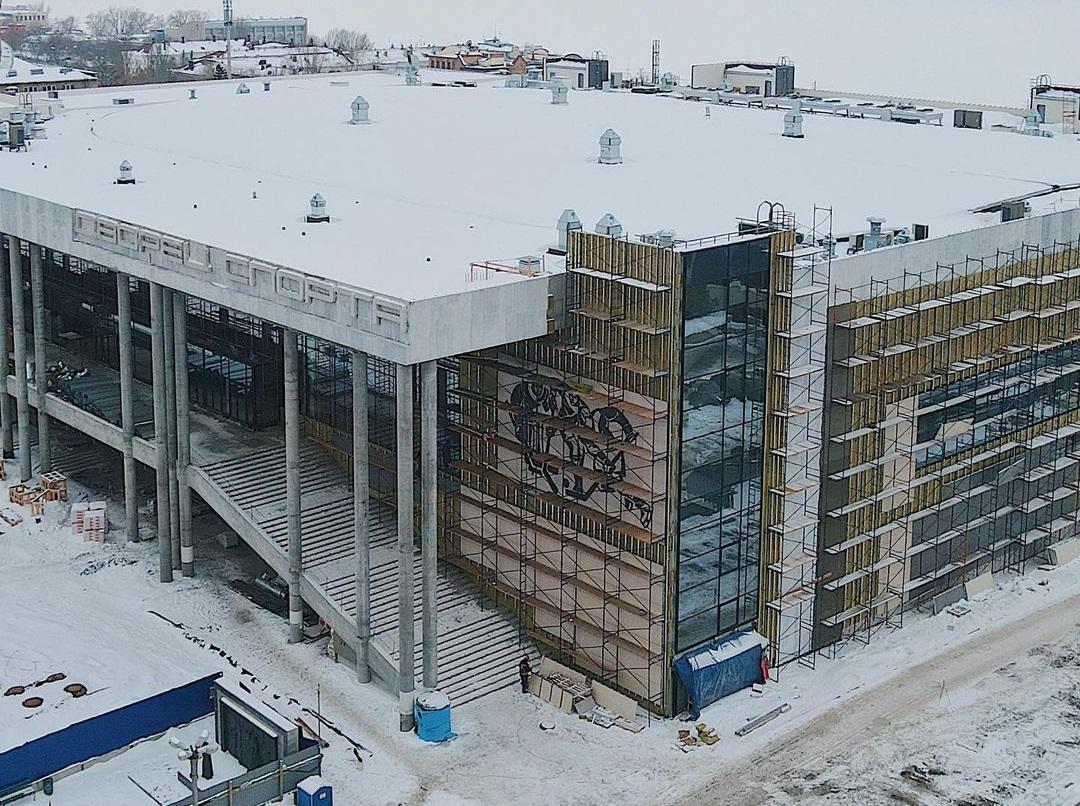 Новый Ледовый Дворец откроется в Самаре осенью 2021 года