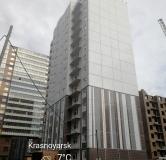 Ход строительства дома № 1, строение 3 в ЖК Светлогорский переулок -