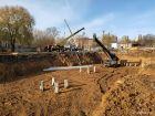 Ход строительства дома № 2 в ЖК Книги - фото 47, Октябрь 2020