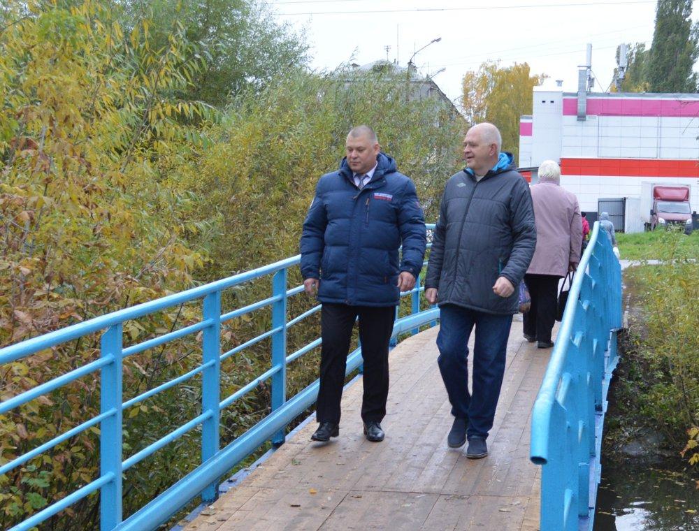Ремонт пешеходных мостов в Московском районе Нижнего Новгорода обошелся в 932 тысячи рублей