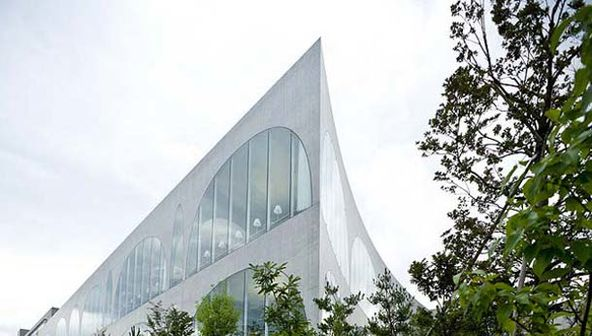 Библиотека Университета искусств Тама в Токио (Tama Art University Library)